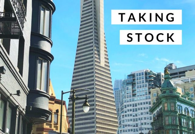 Taking Stock – The San Francisco 2018 Edition