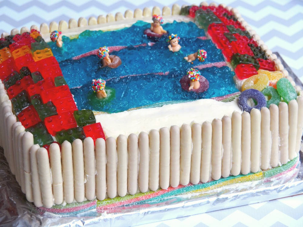 AWW Swimming pool cake 1