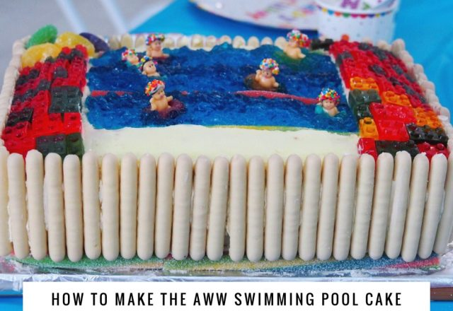 How to Make a Swimming Pool Cake