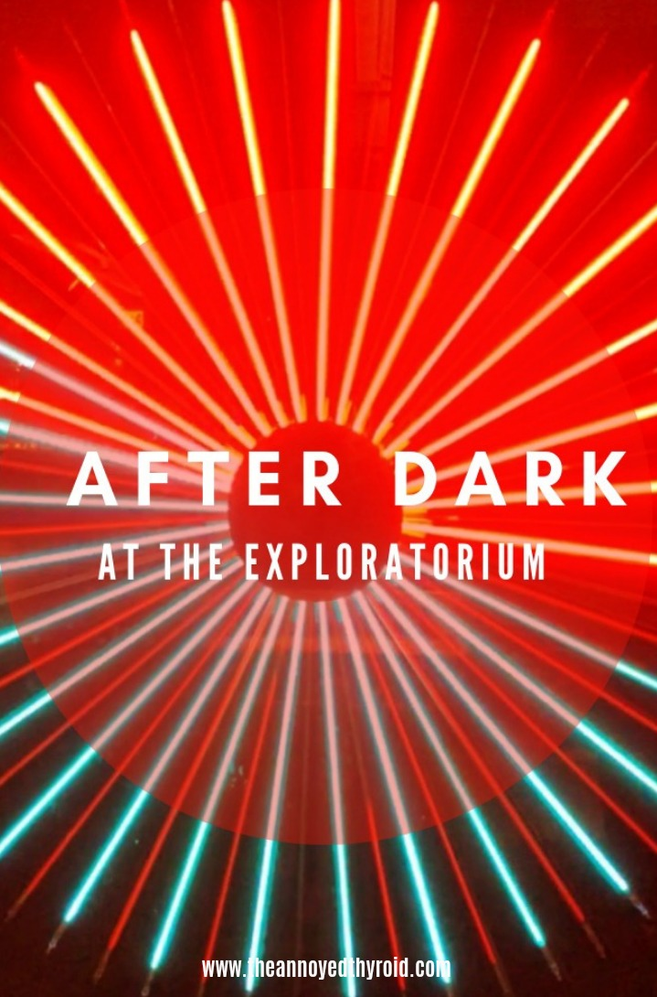 After Dark at the Exploratorium pin