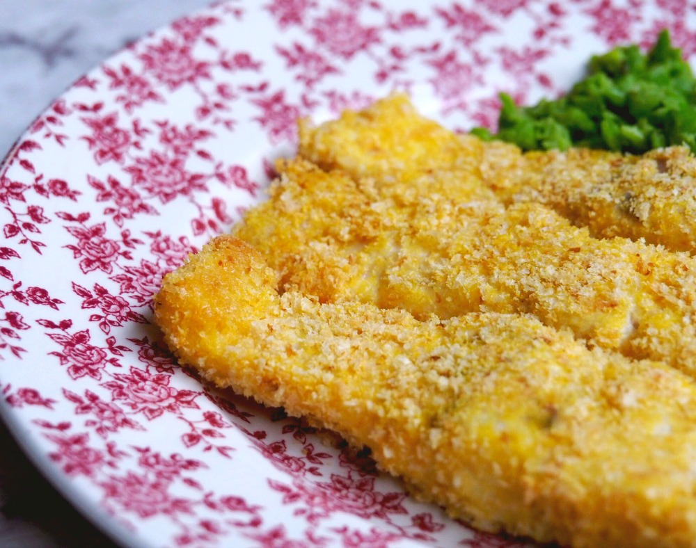 fish fingers and smashed peas 4