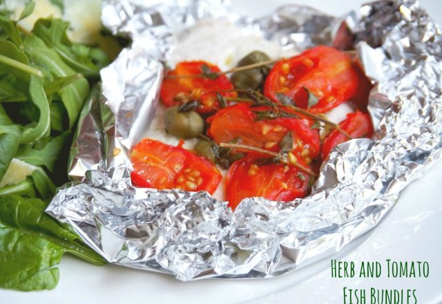 Herb and Tomato Fish Bundles
