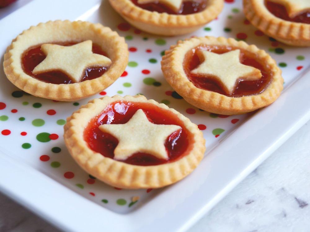 Festive jam tarts 4