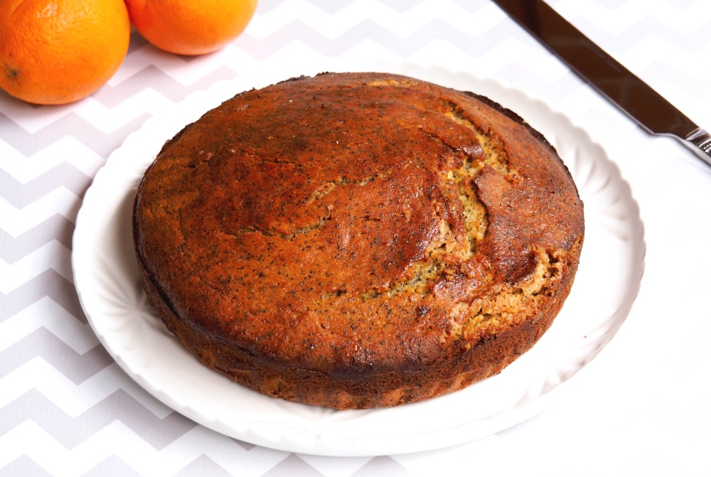 Orange and poppyseed cake 3