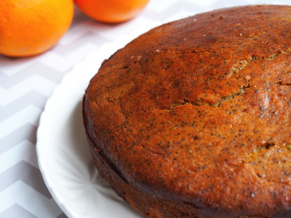 Orange and poppyseed cake 4