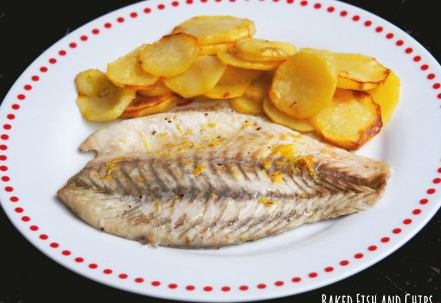 Donna Hay's Baked Fish and Chips