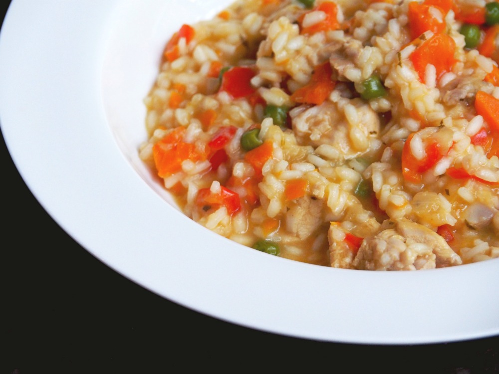 Thermomix Apricot Chicken Risotto 2