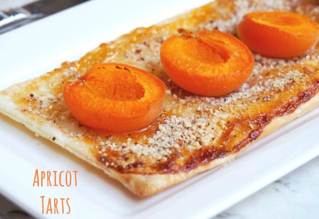 Donna Hay's Apricot Tarts