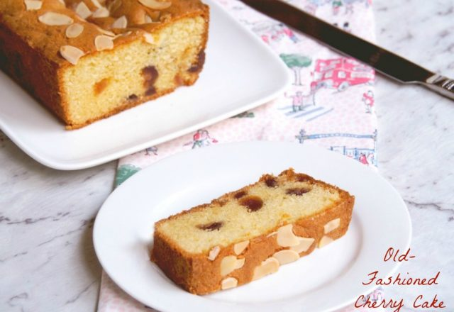 Old -Fashioned Cherry Cake