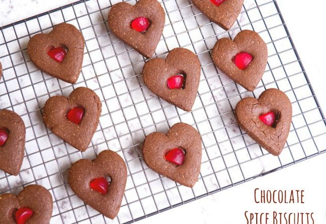 Lisbeth's Chocolate Spice Biscuits