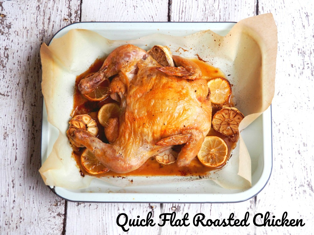 Quick Flat Roasted Chicken 3