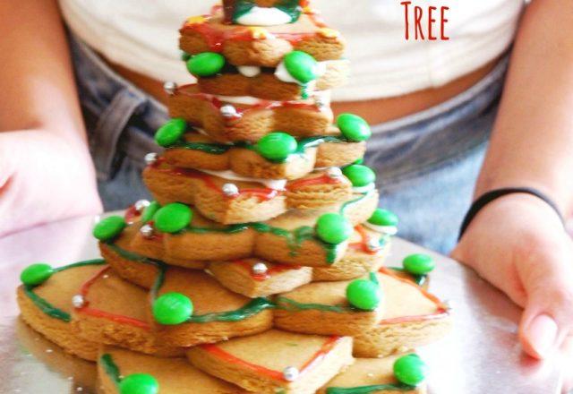 Gingerbread Cookie Christmas Tree