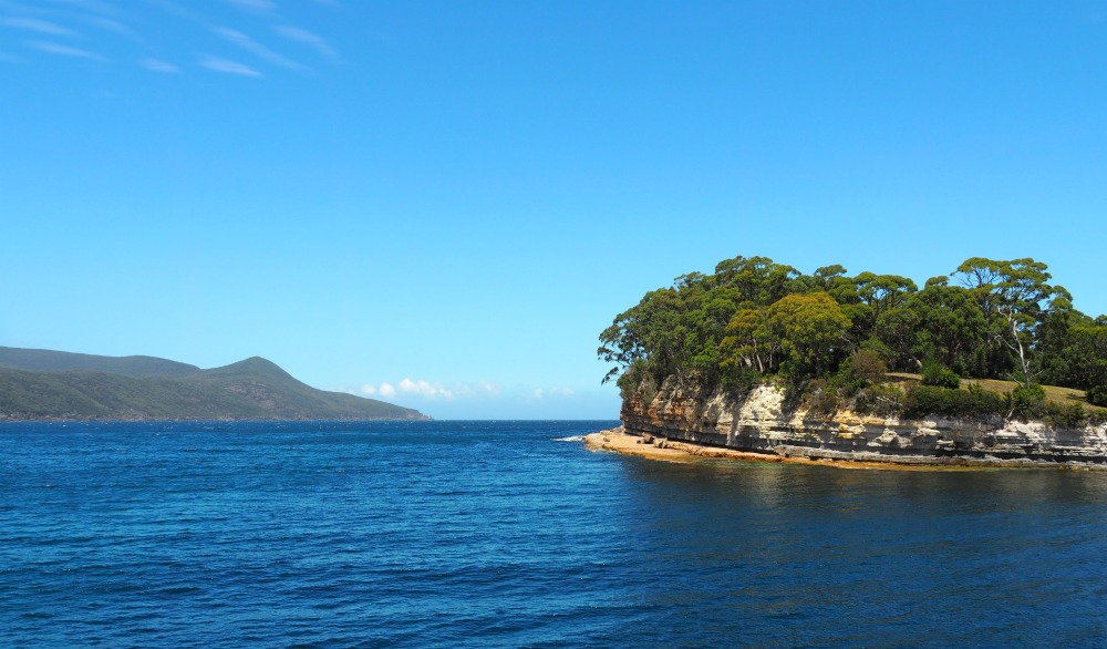 Touring with Let's Show You Tasmania Port Arthur boat