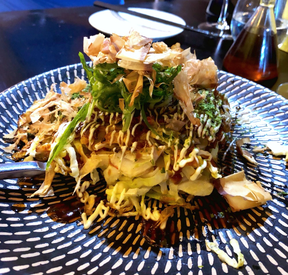 72 hours in Hobart - Bar Wa Izakaya okonomiyaki