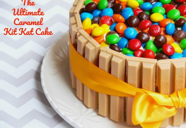 Ultimate Caramel Kit Kat Cake