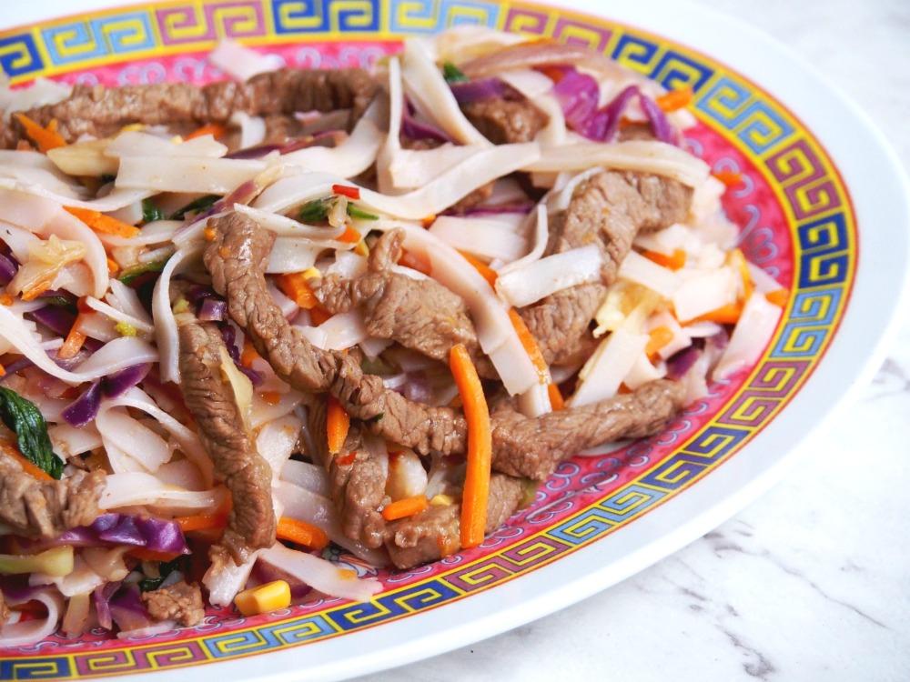 Chilli jam beef noodles 2