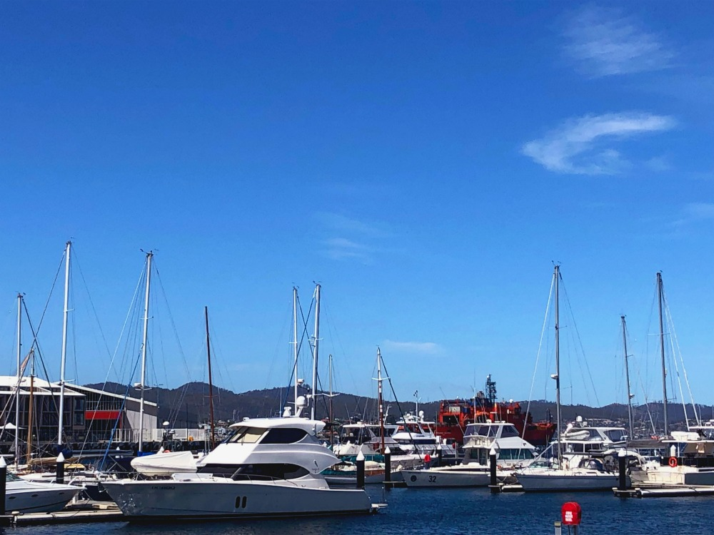 72 hours in Hobart - docks