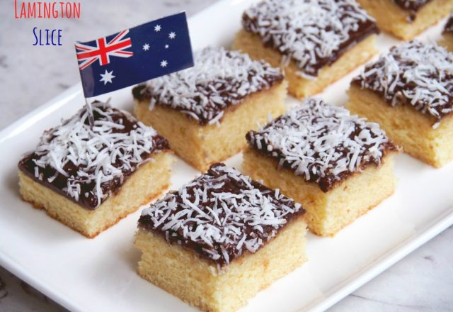 Jamtastic Lamington Slice