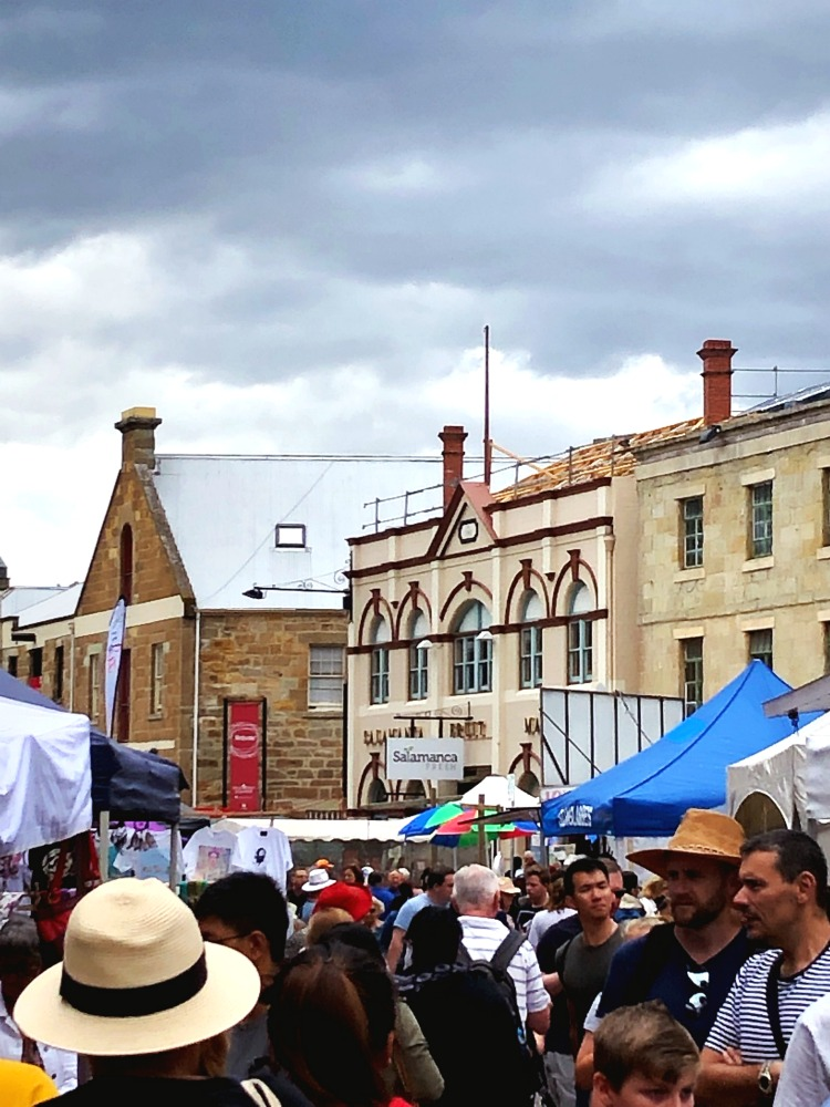 72 hours in Hobart - Salamanca Markets