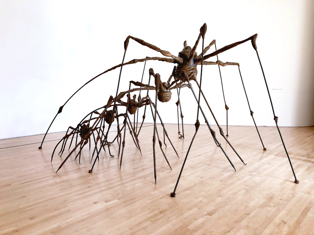 5 museums to visit in San Francisco - SFMOMA spiders