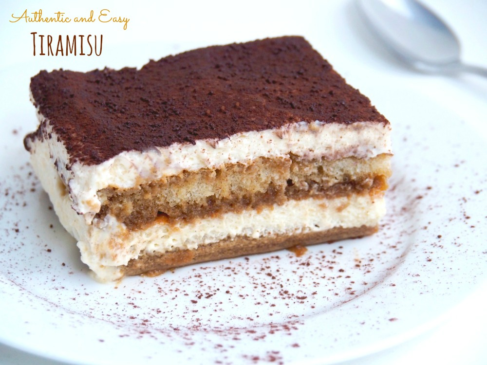 authentic and easy tiramisu