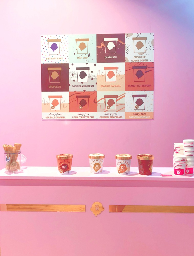 Sugar Republic Sydney - halo top creamery
