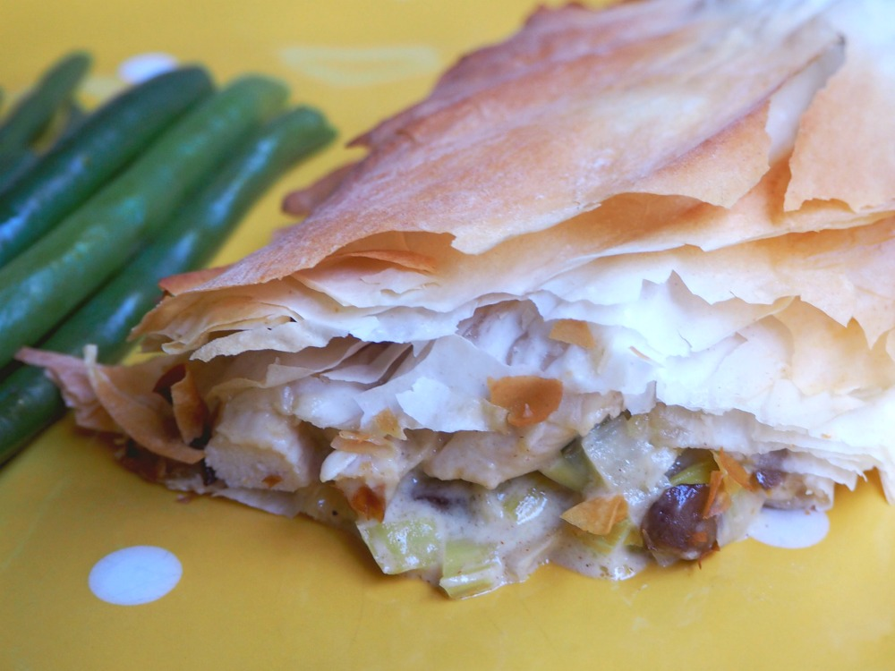 Chicken and Mushroom Filo Parcels 2
