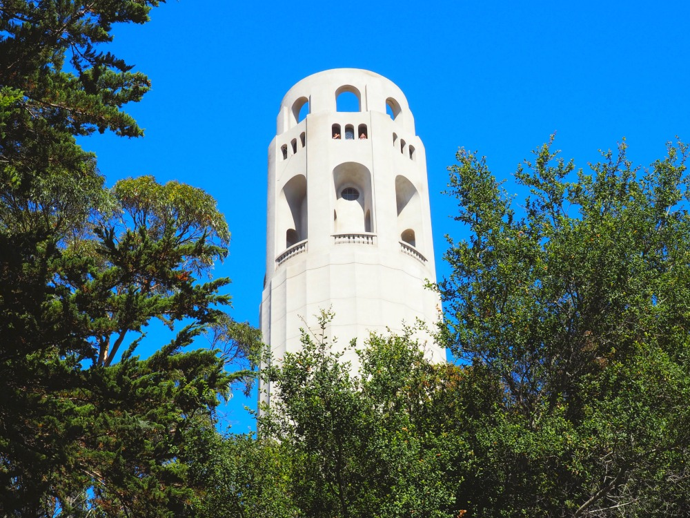 things to do in San Francisco Coit Tower