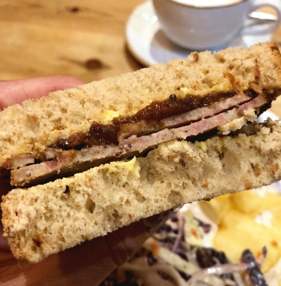 haslet sandwich
