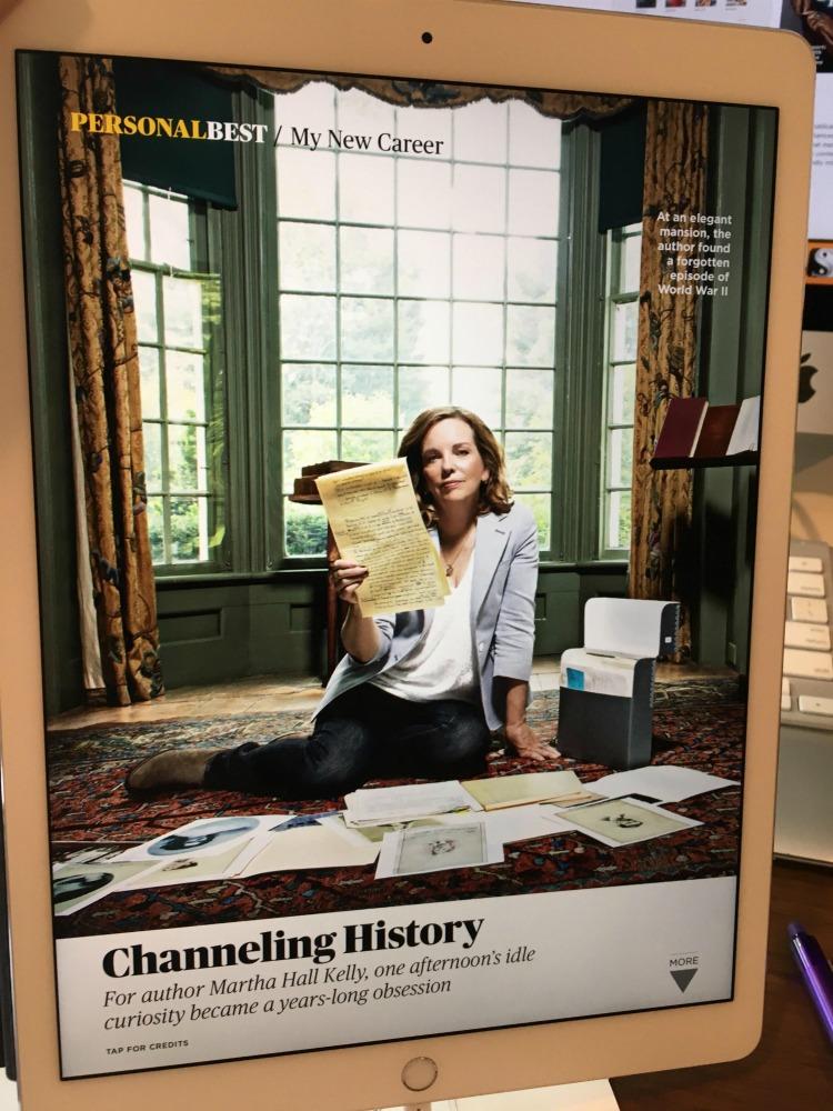 She's So Inspiring - Martha Hall Kelly AARP magazine