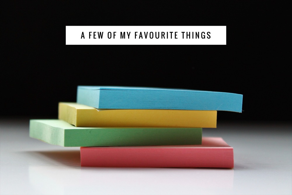 A-few-of-my-favourite-things