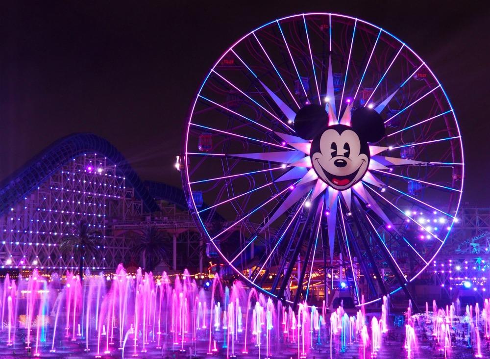 Disneyland world of colour