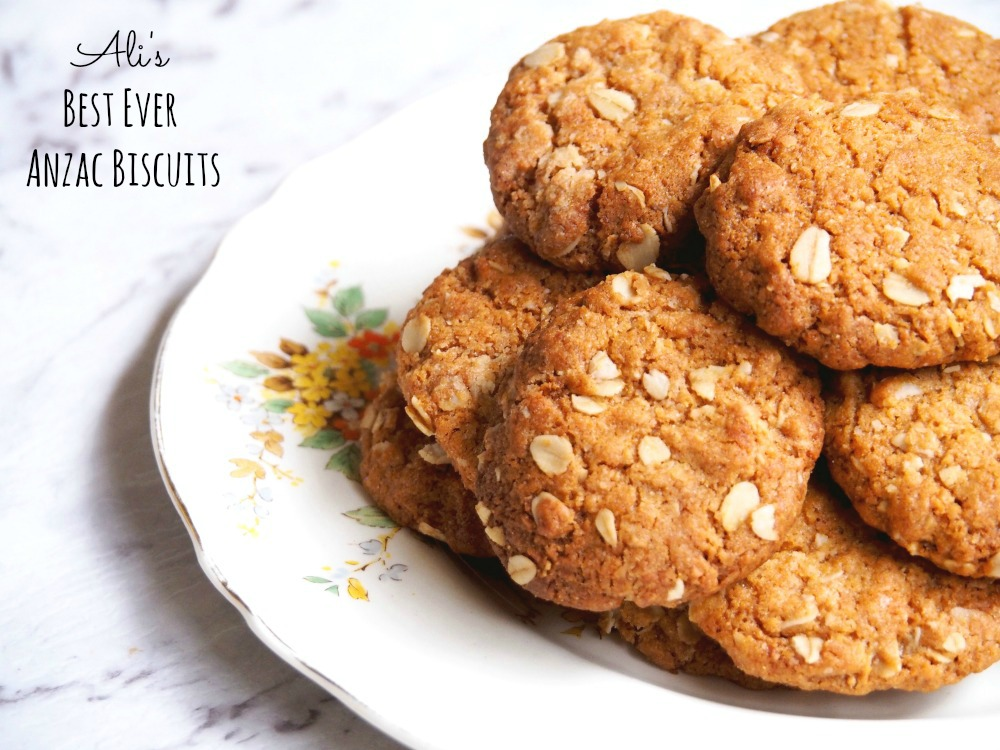 best ever Anzac biscuits