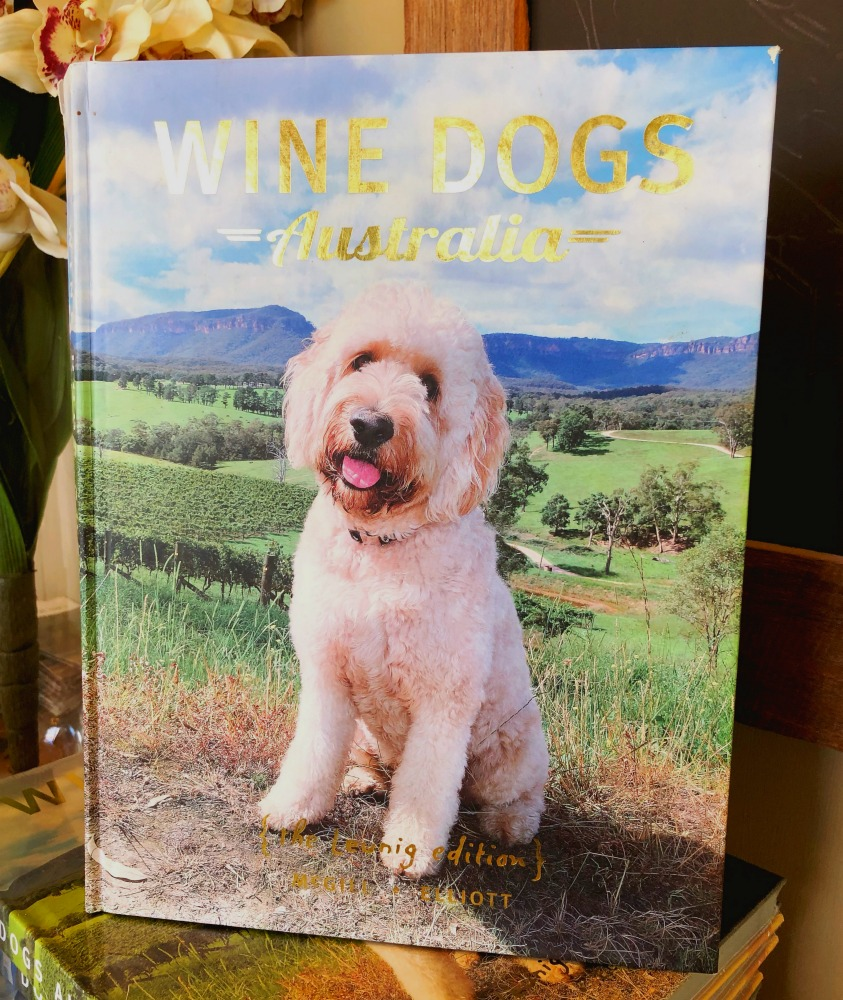 Dryridge estate wine dog