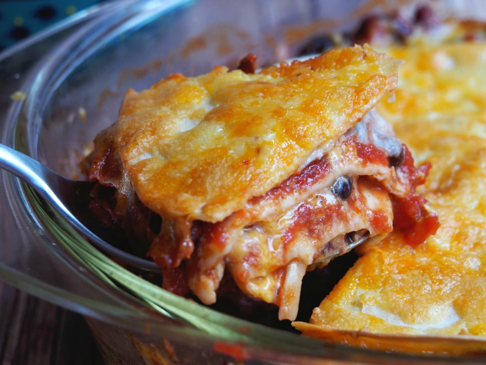 Mexican-Layered-Bean-and-Cheese-Bake-4