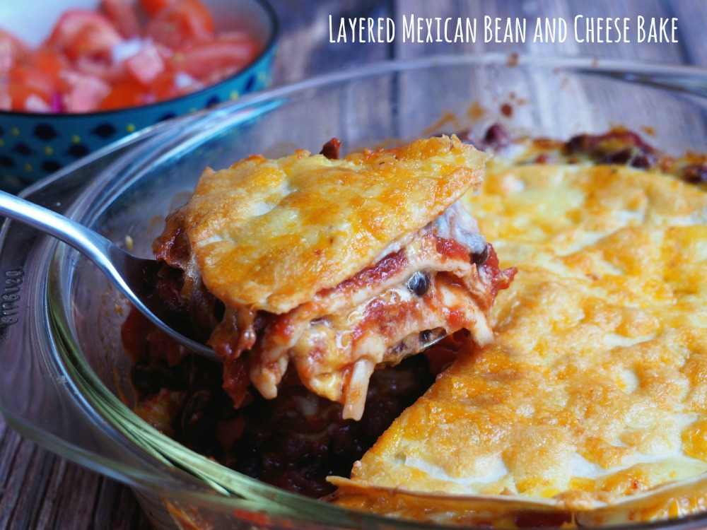 Mexican-Layered-Bean-and-Cheese-Bake
