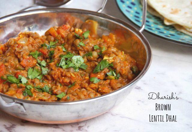 Meatless Monday – Dharish's Brown Lentil Dhal