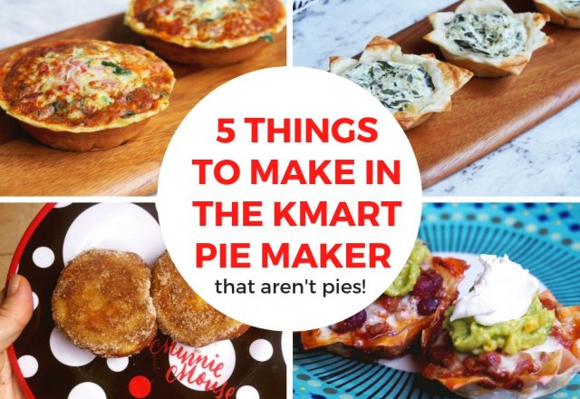 5 Things to Make in the  KMart Pie Maker That Aren't Pies