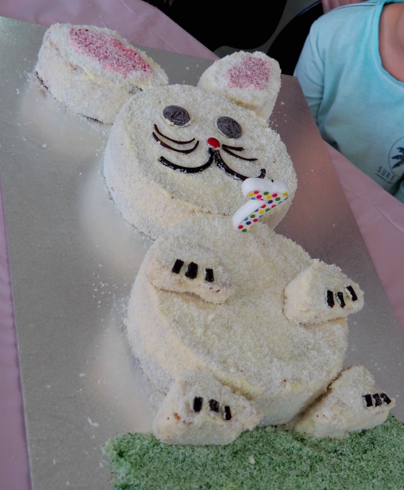 how to make bunny cake 3