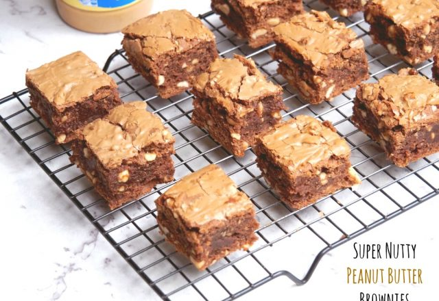 Super Nutty Peanut Butter Brownies