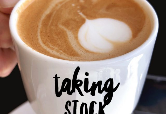 Taking Stock – May 2019