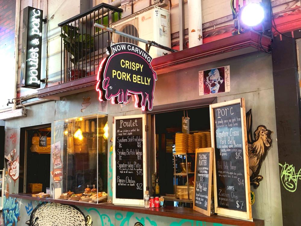poulet porc eat street