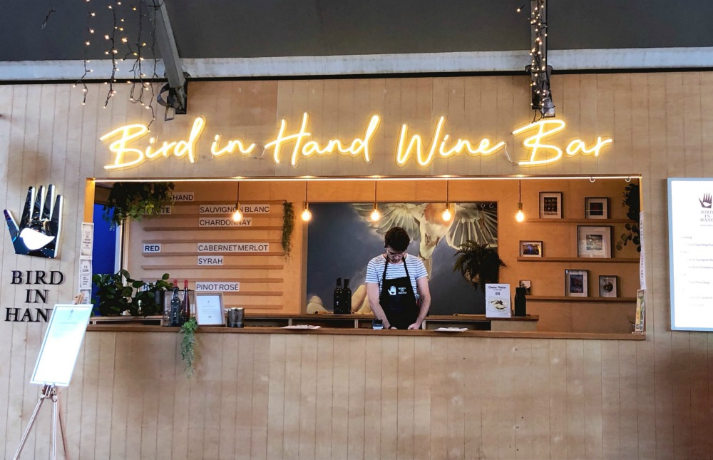 bird in hand wine eat street