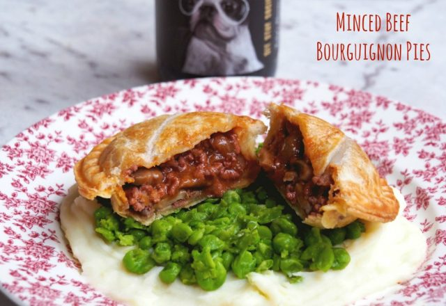 Pie Maker Recipe – Minced Beef Bourguignon Pies