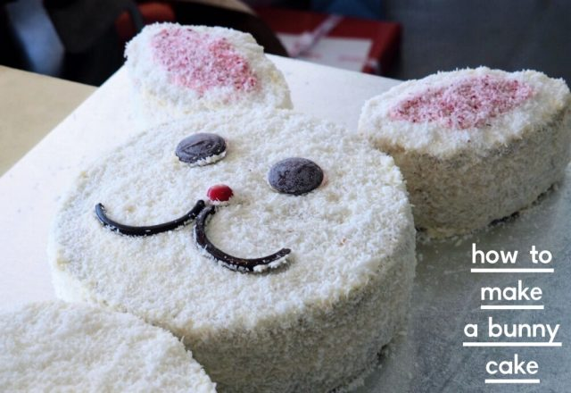 How to Make the AWW Bunny Cake