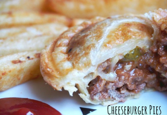 Pie Maker Recipe – Cheeseburger Pies