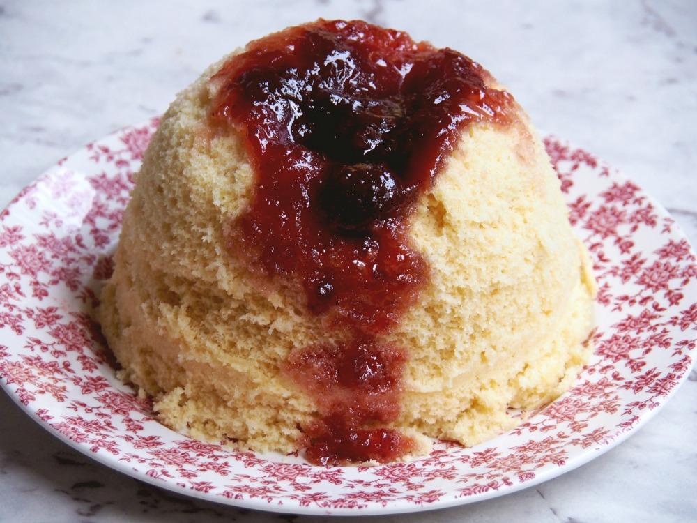 microwave sponge pudding 2