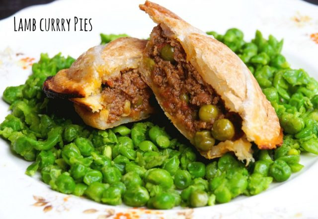 Pie Maker Recipe – Lamb Curry Pies