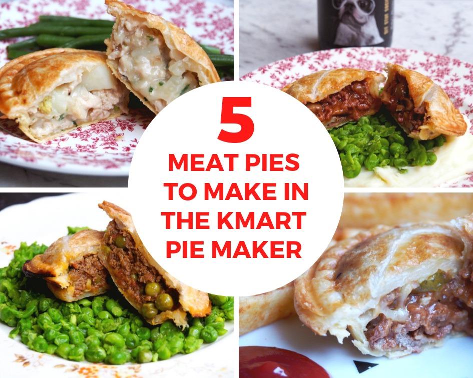 5 meat pies kmart pie maker