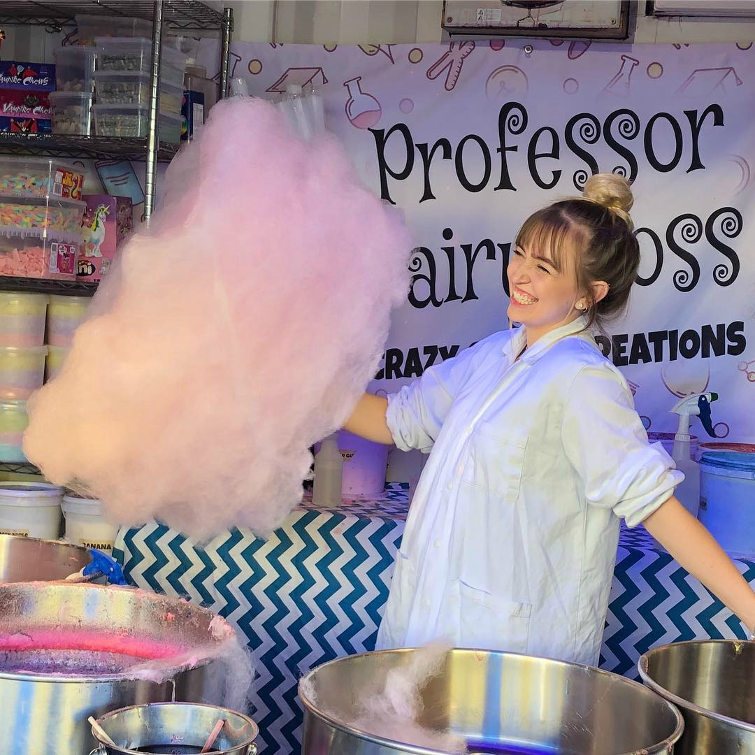 professor fairy floss